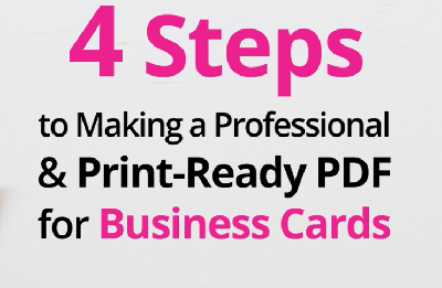 4 Steps to Making a Professional & Print-Ready PDF - Adobe Illustrator