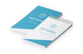 Print Notepads with Cover Online